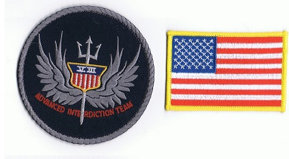 Military American Eagle Embroidery
